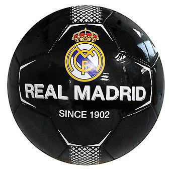 Real Madrid FC Official Black Panel Size 5 Football