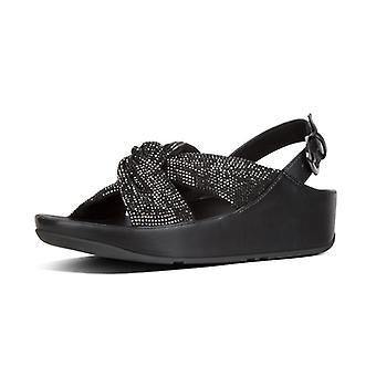 FitFlop Twiss Crystal Back Strap Sandals