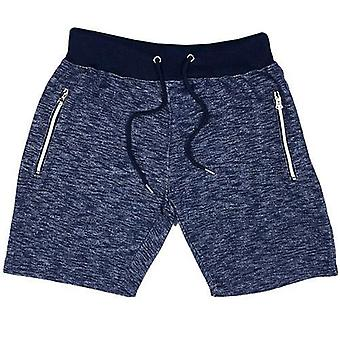 Mens fleece gym shorts zip fickor