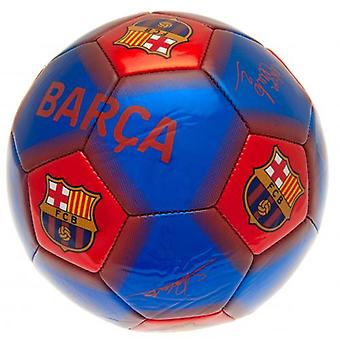 Barcelona-Football-Signaturen