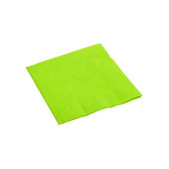 Lime groene servetten