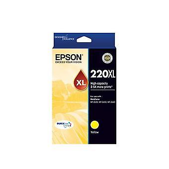Epson 220XL - High Capacity DURABrite Ultra - Yellow Ink Cartridge