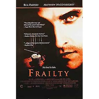 Frailty (yksipuolinen video) alkuperäinen video/DVD-mainos juliste