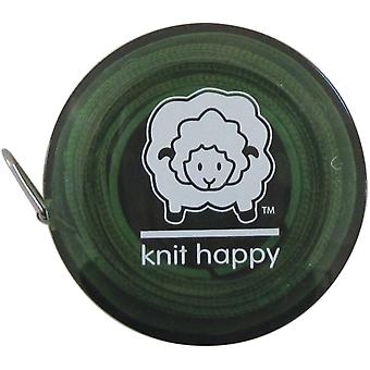 Knit Happy Tape Measure Green Kh652 Gr