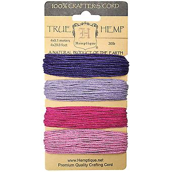 Hanf-Cord 20# 120' Pkg Berry Bar Hc20-Bb