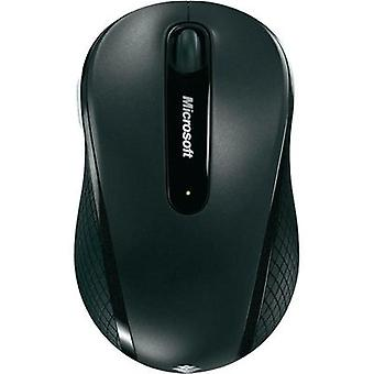 Wireless mouse Optical Microsoft Wireless Mobile Mouse 4000 in schwarz Black