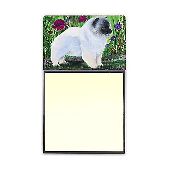 Keeshond Refiillable Sticky Note Holder or Postit Note Dispenser SS8424SN