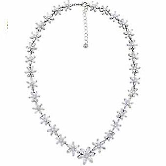 Butler and Wilson Daisy Crystal Necklace