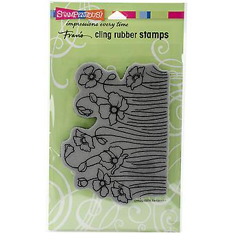 Stampendous Fran's Cling Stamps 7.75