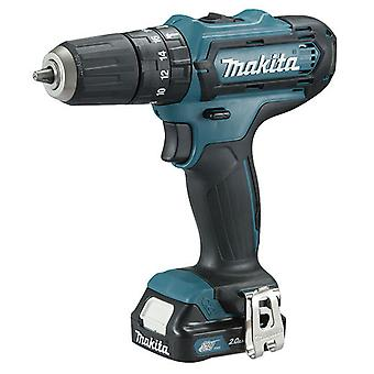 Makita Hammer Drill 10.8 V 2.0 Ah. chuck 10 mm