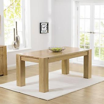 Mark Harris Tampa 150cm Wooden Oak Dining Table