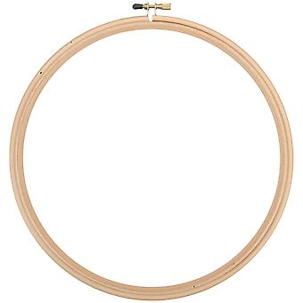 Wood Embroidery Hoop W/Round Edges 12