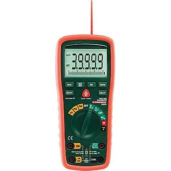 Handheld multimeter digital Extech EX570 Calibrated to: Manufacturer's standards (no certificate) IR thermometer CAT III