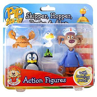 PIP Ohøj! Skipper, Hopper, Pasty og Alan tal