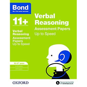 Bond 11 Verbal Reasoning Up to Speed Papers by Frances Down & Alison Primrose &  Bond