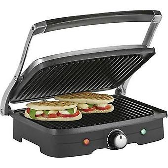 Grill press Tristar GR-2840 with manual temperature settings Stainless steel, Black