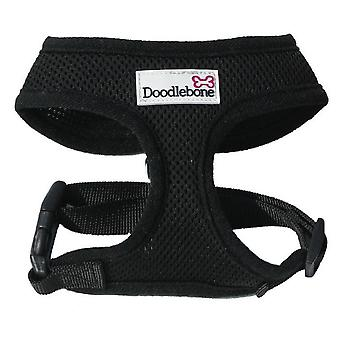 Doodlebone Harness Black Extra Large 55-75cm