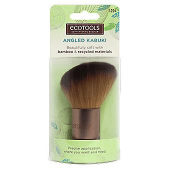 Ecotools angled Kabuki (Beauté , Maquillage , Pinceaux)