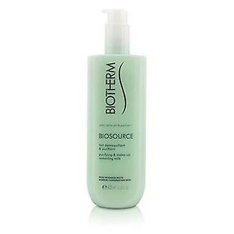 Biotherm Biosource Purifying & Make-Up Removing Milk - For Normal/Combination Skin - 400ml/13.52oz