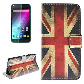 Pocket Wallet Premium pattern 9 for Wiko Lenny
