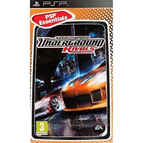 Need for Speed Underground Rivals Essentials Edition PsP Game