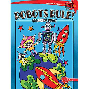 Dover Publications-Robots Rule! Coloring Book DOV-14438