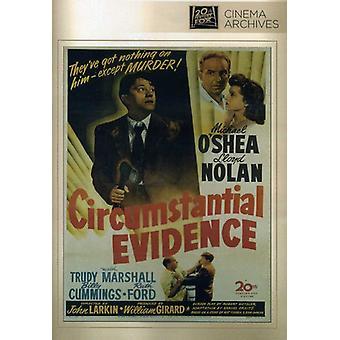 Circumstantial Evidence [DVD] USA import