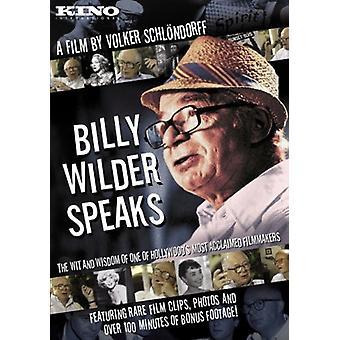 Billy Wilder Speaks [DVD] USA import