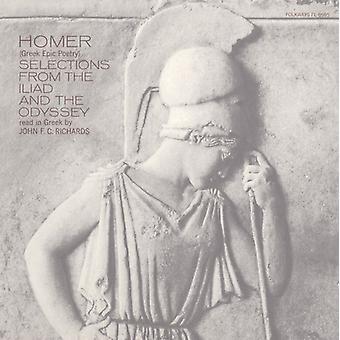 John F.C. Richards - Homer-Greek Epic Poetry: Read in Greek by John F.C [CD] USA import