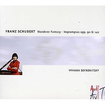 R. Schubert - Schubert: Wanderer Fantasie; Impromptu's [CD] USA importeren
