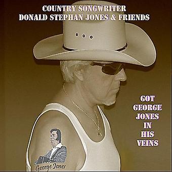 Jones, Donald Stephan & Friends - Got George Jones in His Veins [CD] USA import