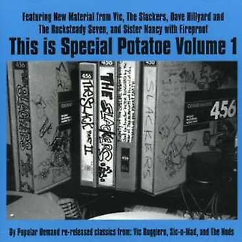 Dette er særlig Potatoe - er særlig Grillpølse [CD] USA importen