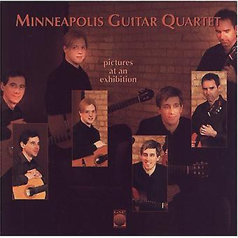 Minneapolis Guitar Quartet - billeder på en udstilling [CD] USA importerer