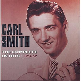 Carl Smith - Smith Carl-Complete Us Hits1951-62 [CD] USA import