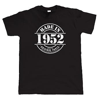 Made in 1952 Mens Funny T Shirt