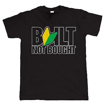 Built Not Bought, Mens JDM Tshirt