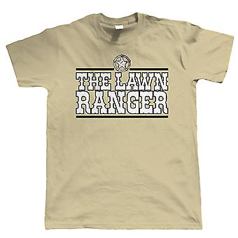 Vectorbomb, The Lawn Ranger, Mens Funny Gardening T Shirt (S to 5XL)