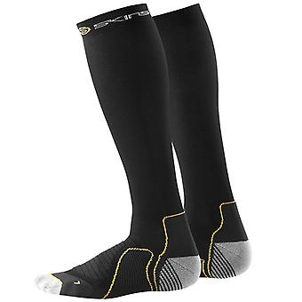 Skins Active Midweight Compression Socks Black - B59001933