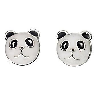 925 Silver Panda Earring