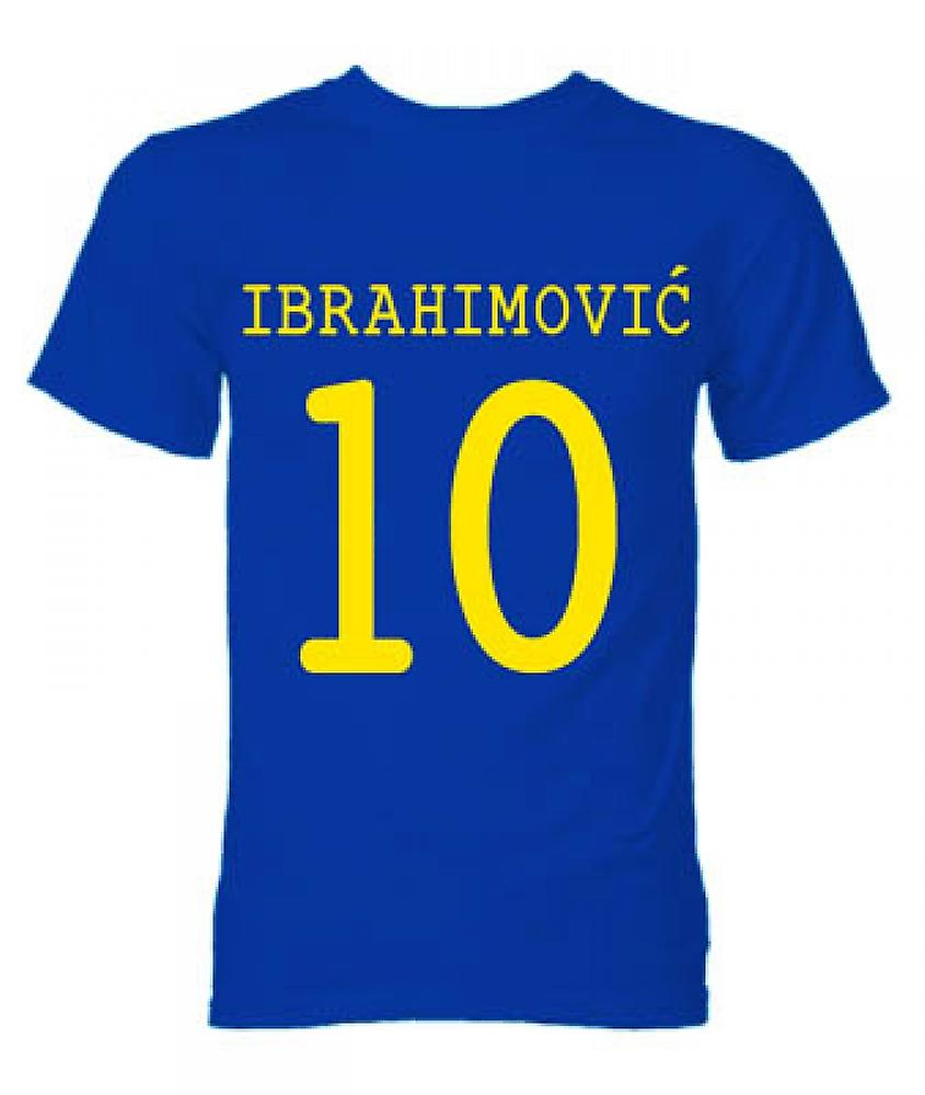 Zlatan Ibrahimovic Sweden Hero T-Shirt (Blue)