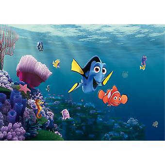 Disney Nemo og Dory Big vægmaleri dekoration