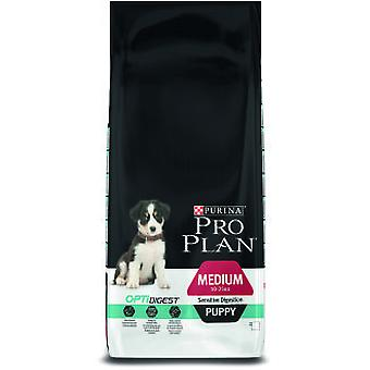 Pro Plan Medium Puppy Optidigest Sensitive Digestion (Dogs , Dog Food , Dry Food)