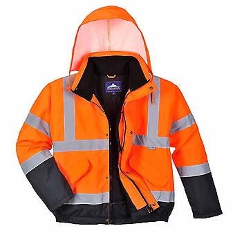 Portwest - Hi-Vis Safety Workwear Two Tone Bomber Jacket