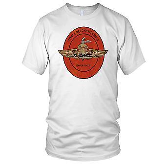 Us Marine Corps Force Reconnaissance Insignia Grunge Effect Kids T Shirt