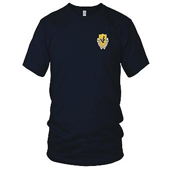 US Army - 12th Cavalry Regiment Embroidered Patch - Kids T Shirt