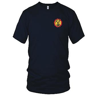 US Navy LST-453 USS Remus Embroidered Patch - Mens T Shirt