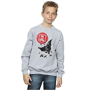 DC Comics pojkar Justice League film Batman Moon Leap Sweatshirt