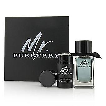 Burberry Mr Burberry Geschenkset 50ml EDT + 75ml Shower Gel