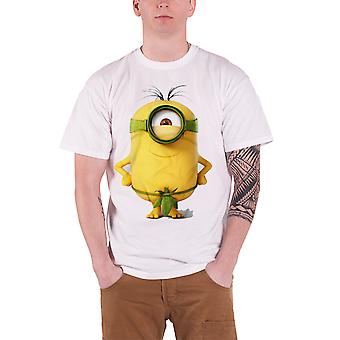 Minions Movie Good To Be King Official Mens New White T Shirt