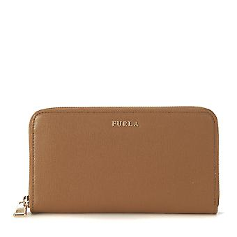 FURLA women's 851529 brown leather wallets